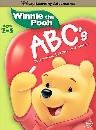 Disney's Learning Adventures - Winnie the Pooh - ABC's cover