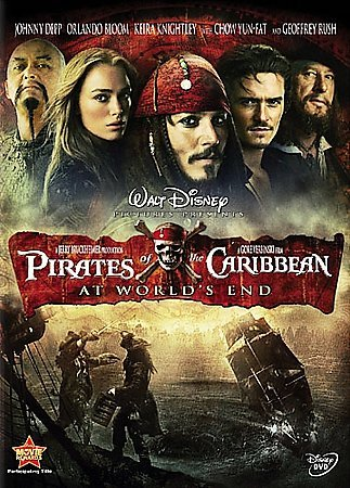 Pirates of the Caribbean: At World's End cover
