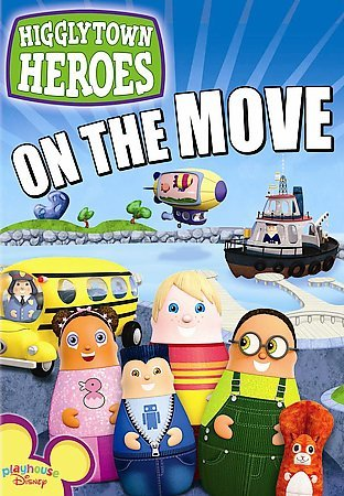 Higglytown Heroes - On the Move cover