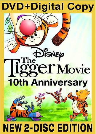 The Tigger Movie 10th Anniversary Edition (Two-Disc Edition + Digital Copy) cover