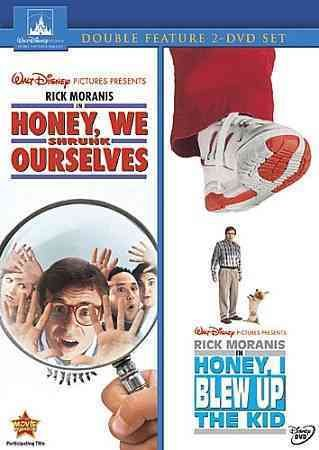 Honey We Shrunk Ourselves / Honey I Blew Up The Kid 2-Movie Collection cover
