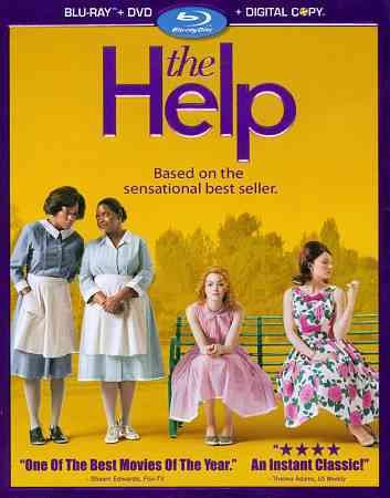 The Help (Three-Disc Combo: Blu-ray/DVD + Digital Copy) cover
