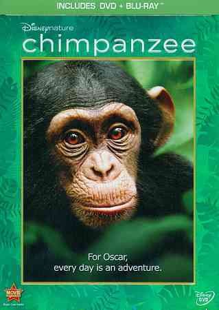 Disneynature Chimpanzee (Two-Disc Blu-ray/DVD Combo in DVD Packaging)