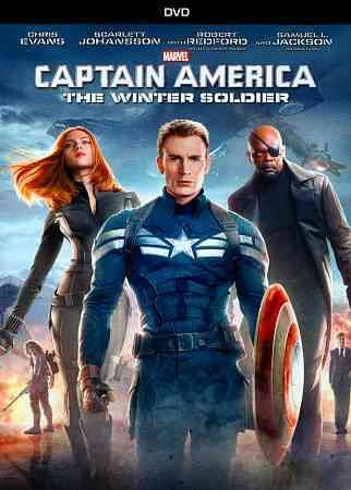 Captain America: The Winter Soldier (DVD) cover