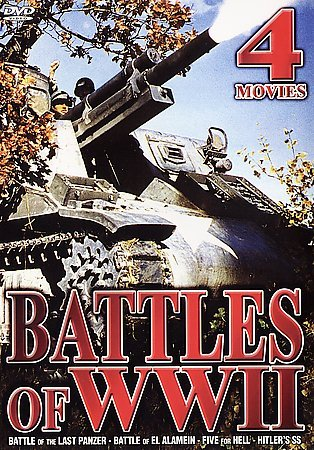 Battles of WWII - 4 Movies