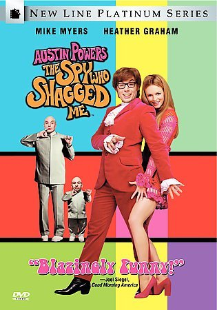 Austin Powers: The Spy Who Shagged Me (DVD) cover