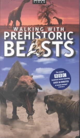 Walking With Prehistoric Beasts [VHS] cover