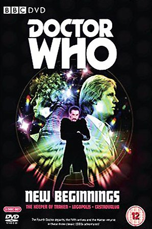 Doctor Who: New Beginnings (The Keeper of Traken / Logopolis / Castrovalva) (Stories 115 - 117) cover