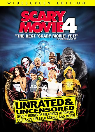 Scary Movie 4 (Unrated Widescreen Edition) cover