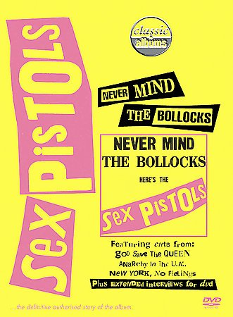 Sex Pistols - Never Mind the Bollocks cover