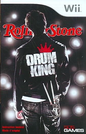 Rolling Stone Drum King - Nintendo Wii cover