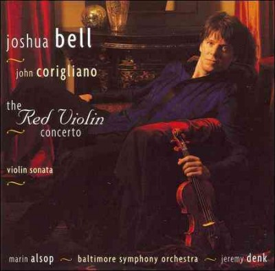 Corigliano: The Red Violin Concerto, Violin Sonata cover