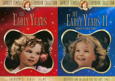 Shirley Temple Early Years Vols. 1 and 2 - In COLOR!