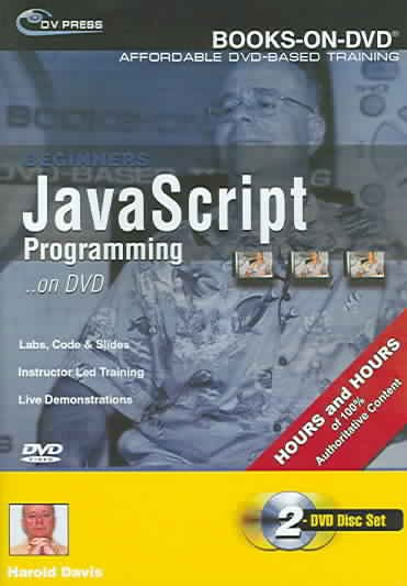 Beginner's JavaScript 2004 on DVD
