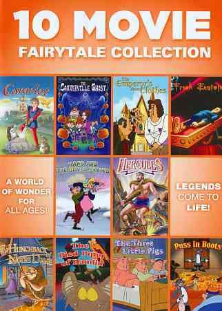 10 Movie Fairytale Collection cover