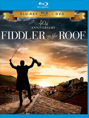 Fiddler on the Roof (Two Disc Blu-ray/DVD Combo) cover