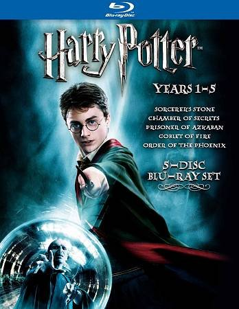 Harry Potter Years 1-5 [Blu-ray] cover