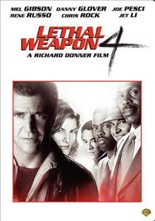 Lethal Weapon 4 (Keepcase) cover