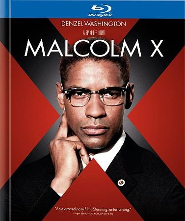 Malcolm X (Blu-ray Book) cover