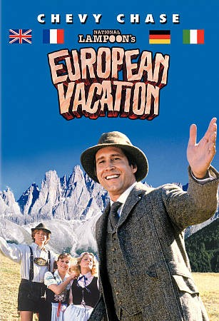 National Lampoon's European Vacation (DVD) (Rpkg) cover