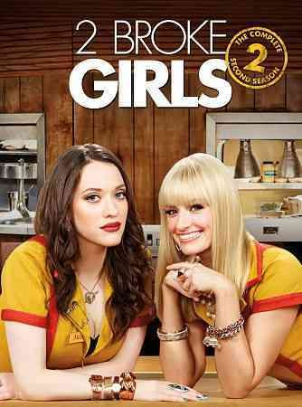 2 Broke Girls: The Complete Second Season cover