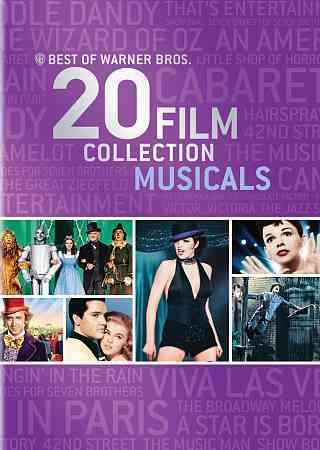 Best of Warner Bros. 20 Film Collection Musicals (DVD) cover