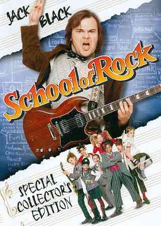 School Of Rock, The (2003) cover