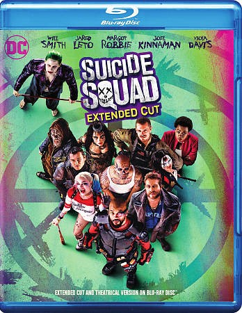 Suicide Squad (Extended Cut / Blu-ray)