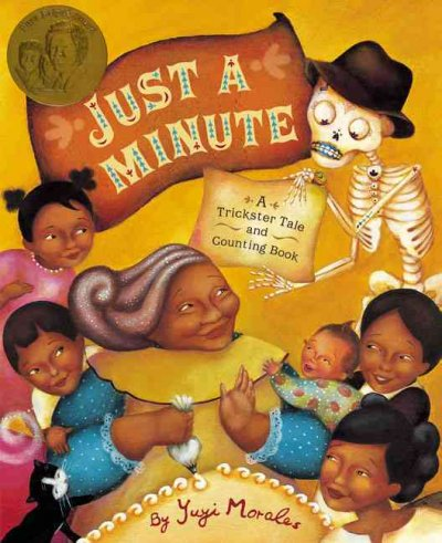 Just a minute : a trickster tale and counting book