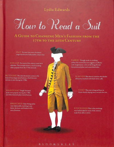 How to read a suit : a guide to changing men's fashion from the 17th to the 20th century