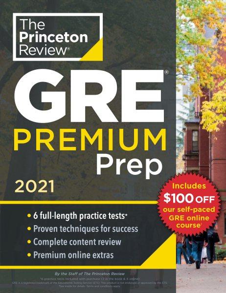 GRE Premium Prep 2021