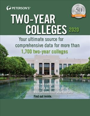 Peterson's Two-year Colleges 2020.