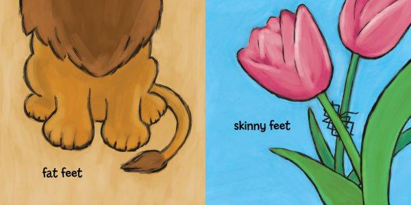 Whose Feet?