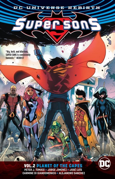 Super Sons. Vol. 2, Planet of the Capes