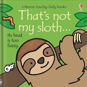 That's Not My Sloth ... Its Head is Too Fuzzy