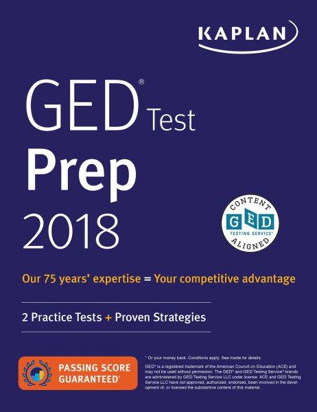 GED Test Prep 2018