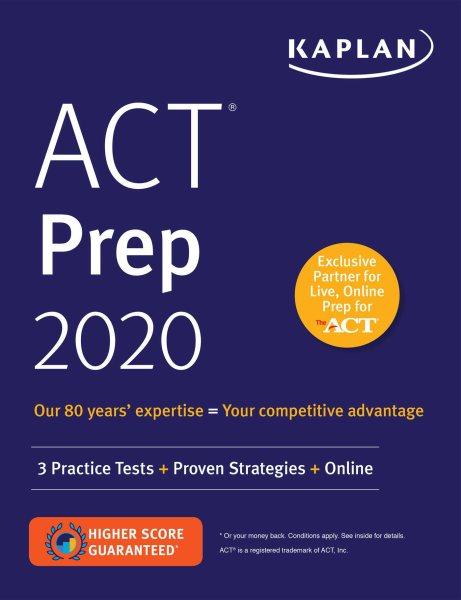 ACT Prep 2020.