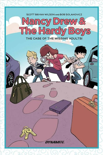 Nancy Drew & the Hardy Boys. The Case of the Mi...