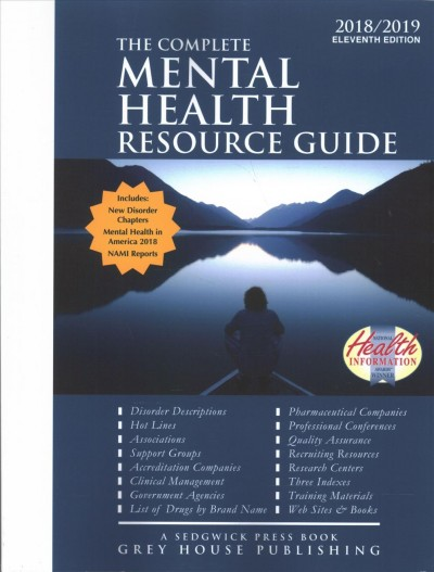 The Complete Mental Resource Guide 2018/2019