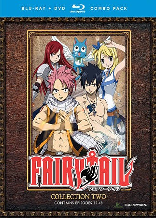Fairy Tail. Collection Two, Episodes 25-48
