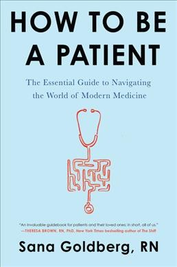 How to Be a Patient book cover