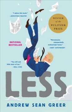 """Cover of the novel """"Less"""" by Andrew Sean Greer"""