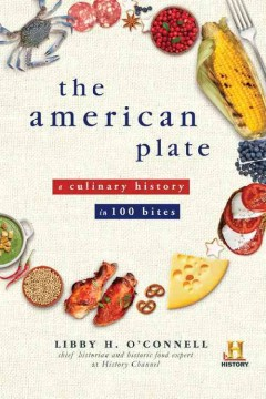 "Book cover for ""The American Plate"""