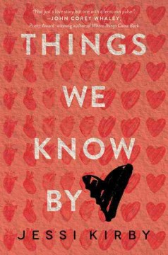"book cover ""Things we know by Heart"" by Jessica Kirby"