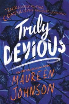 "Book Cover ""Truly Devious"" by Maureen Johnson"