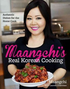 Cover of the Cookbook Maangchi's Real Korean cooking
