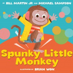 book cover: Spunky Little Monkey