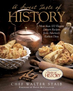 "Book cover for ""A Sweet Taste of History"""