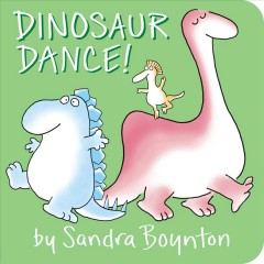 """Cover of the board book """"Dinosaur Dance"""""""