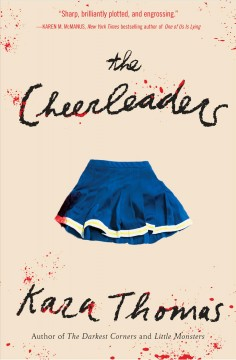 """book cover """"The Cheerleaders"""" by Kaza Thomas"""
